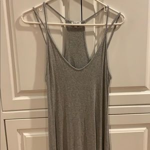 Splendid tank dress with racer back, size small